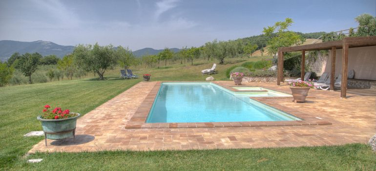 Villa Campo Rinaldo in Umbria - Swimming Pool