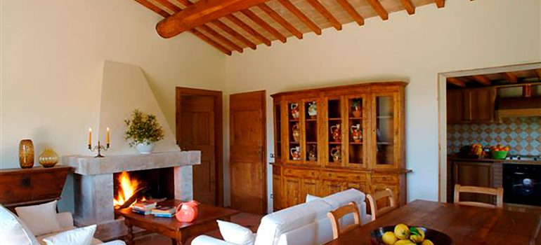 Villa Carina in Umbria - Living