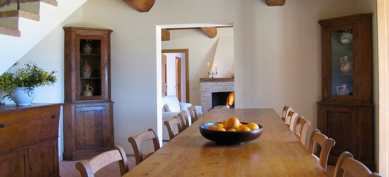 Villa Cipresso in Umbria - Living