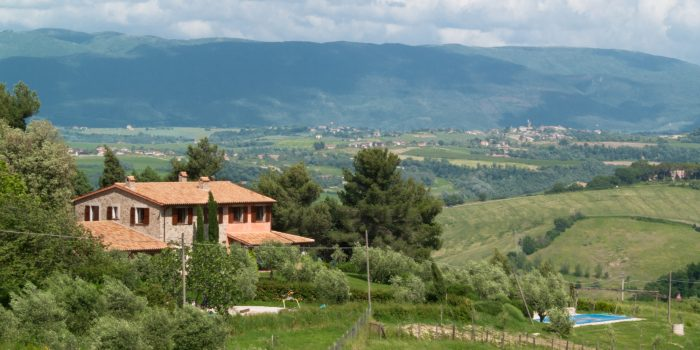 Villa Colibrì in Umbria - View