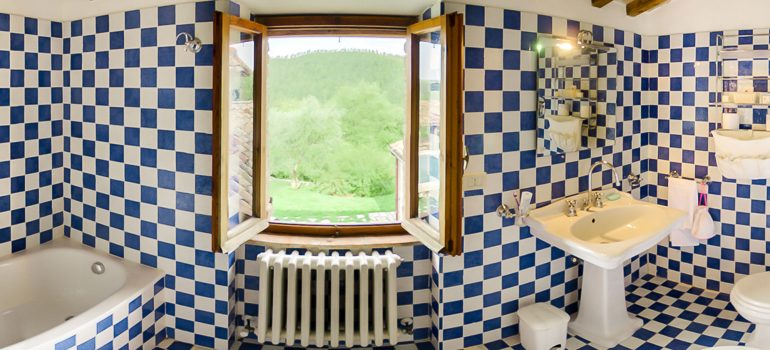 Villa Pianesante in Umbria - Bathroom