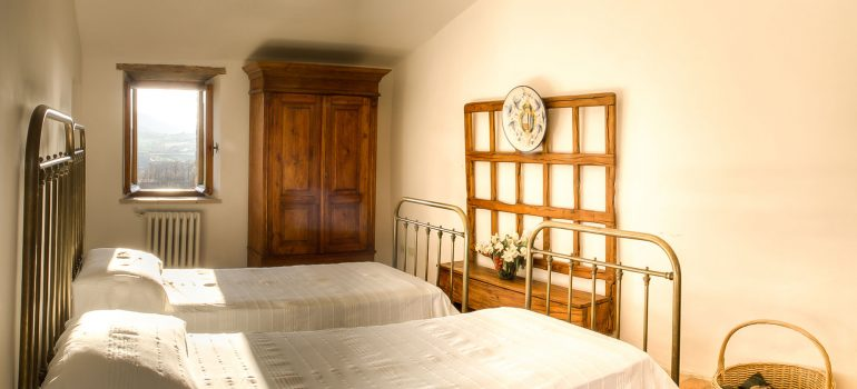 Villa Pianesante in Umbria - Bedroom
