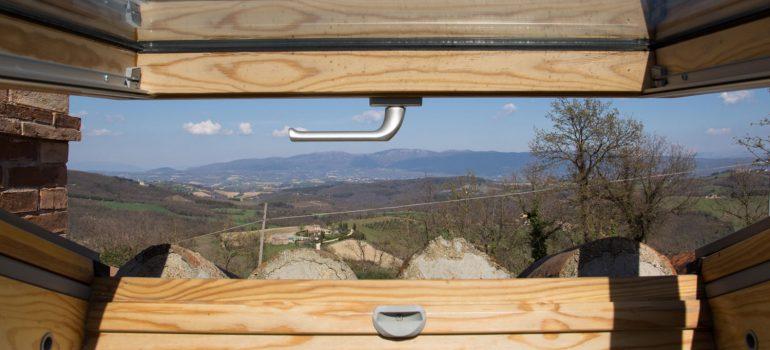 Villa Campo Rinaldo in Umbria - View