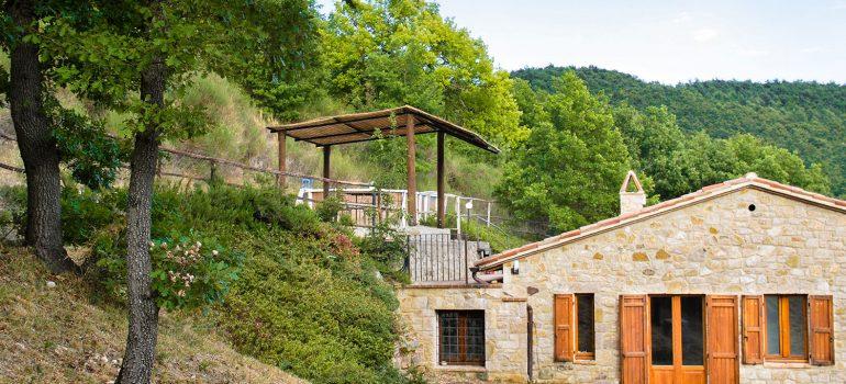 Villa Carina in Umbria - Exterior