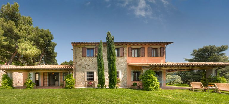 holiday villa in Umbria