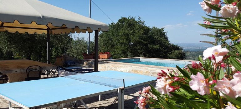 Villa Capricorno in Umbria - Swimming Pool
