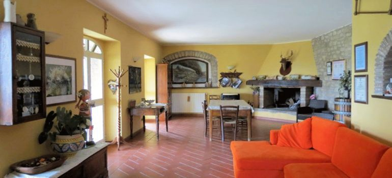 Villa Capricorno in Umbria - Living