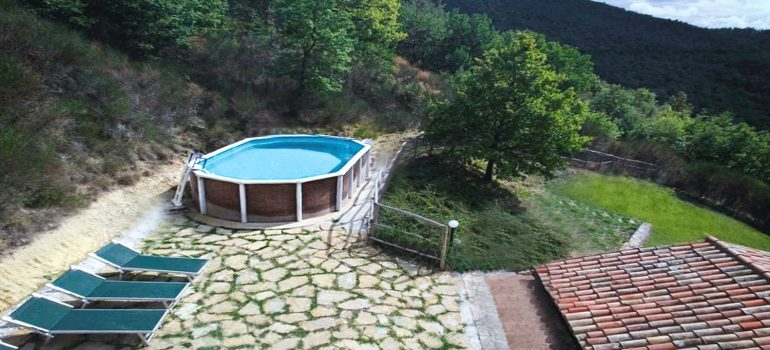 Villa Carina in Umbria - Swimming Pool