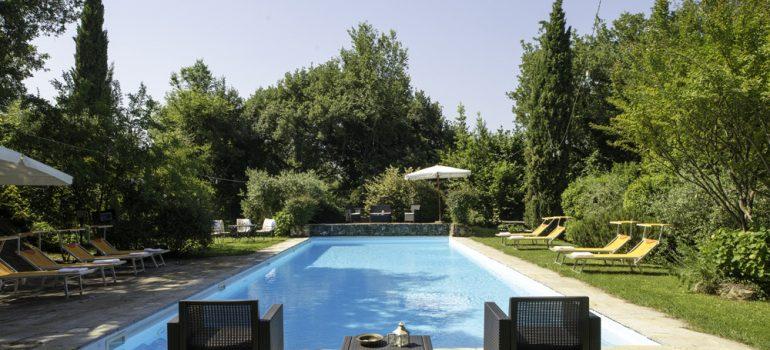 Falco Castle in Umbria - Swimming Pool