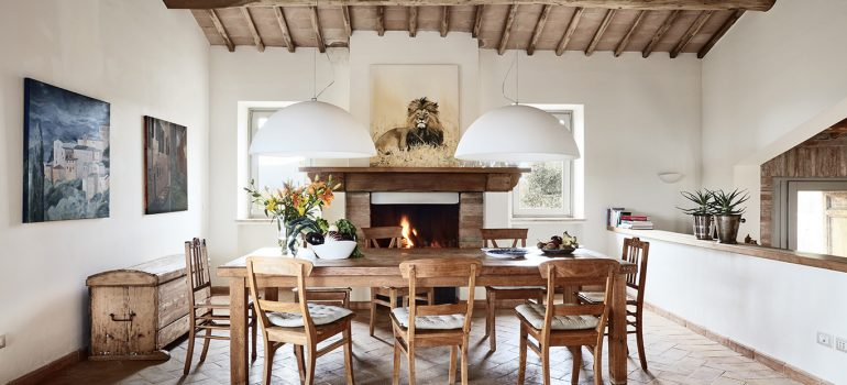 Villa Campo Rinaldo in Umbria - Living