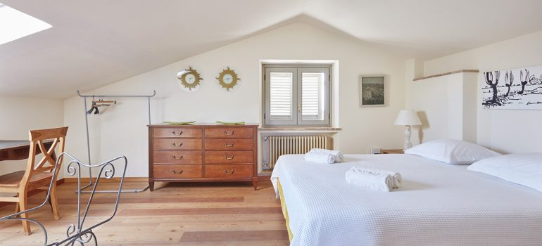 Villa Campo Rinaldo in Umbria - Bedroom