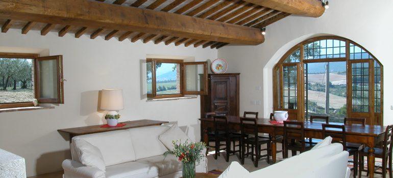 Villa Pianesante in Umbria - Living