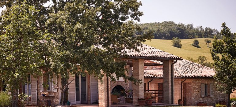 Villa Campo Rinaldo in Umbria - Exterior