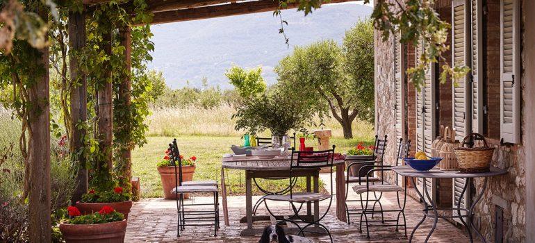 Villa Campo Rinaldo in Umbria - villa outdoor vibe